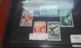 Monaco 1948  YT319/23 Jeux Olympiques NEUFS Xx - Unused Stamps