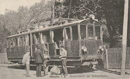 Munster- Abfahrtselle Der Schluchtbahn / Tramway - Munster