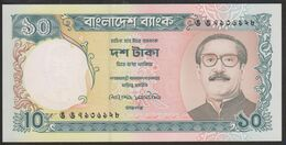 Bangladesh 10 Taka 1996 P32 Sign 2 UNC - Bangladesh