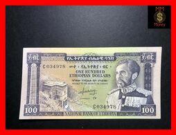 ETHIOPIA  100 $  1966  P. 29  Pen  VF+ - Ethiopië