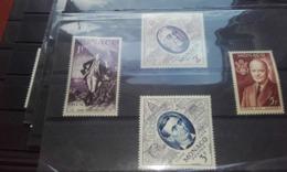Monaco 1956 YT444/7 EXPO PHILATHELIQUE NEUFS Xx - Unused Stamps