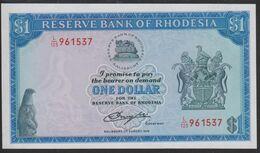 Rhodesia 1 Dollar 1979 P38 UNC - Rhodesia