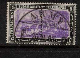 SUDAN 1898 5p Military Telegraph Stamps SG T15 U #BJX15 - Soudan (...-1951)