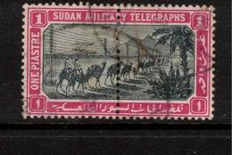 SUDAN 1898 1p Military Telegraph Stamps SG T7 U #BJX05 - Soudan (...-1951)