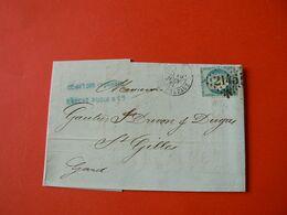D208 / CERES N° 37 SUR LETTRE - 1870 Siège De Paris