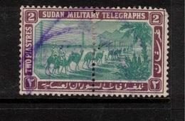 SUDAN 1898 2p Military Telegraph Stamps SG T8 U #BJX07 - Soudan (...-1951)