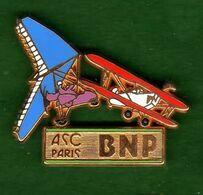 Pin's ASC Aviation Zamac  Ballard - Pin's & Anstecknadeln
