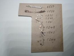 Mécanisme D'horlogerie Pièces Pour Horloge, Pendule, Montre, Etc... Référence De L'horloger Marqué Dessus. (Aiguilles..) - Jewels & Clocks