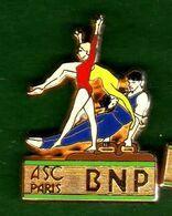 Pin's ASC BNP Gymnastique Zamac  Ballard - Pin's & Anstecknadeln