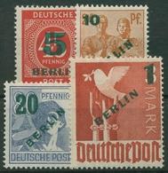 Berlin 1949 Grünaufdruck 64/67 Mit Neugummierung (R19227) - Unused Stamps