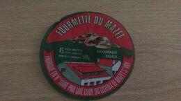 Etiquette Fromage -  FOURMETTE DU MAZET 45 % MAT G FROMAGE DOUX LE MAZET ST VOY - Aschenbecher