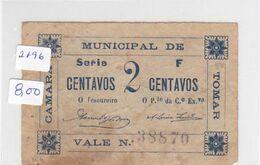 Portugal -cédula De Tomar Série  F - Portugal