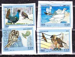 Uccelli Delle Alpi-Italia 2013 Serie  Non Completa Su Frammento - 2011-...: Oblitérés