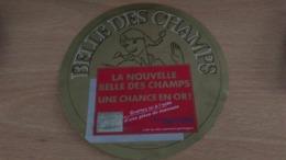 """Etiquette Fromage -  """" BELLE DES CHAMPS """" - Aschenbecher"""