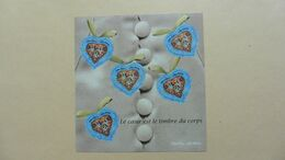 France > Blocs & Feuillets >BF N° 33  Neuf :Le Coeur Est Lr Timbre Du Corps - Mint/Hinged