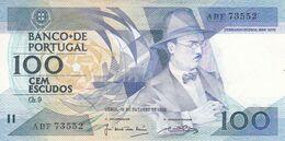 Portugal Nota De 100$00      1986 - Portogallo