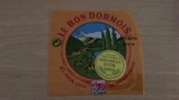 """Etiquette Fromage -  """" LE BON DORMOIS """" 45 % MAT G MEDAILLE D OR 1994 - Aschenbecher"""