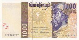 Portugal Nota De 1000$00   Ano   2000 - Portogallo