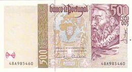 Portugal Nota De 500$00   Ano   1997 - Portogallo