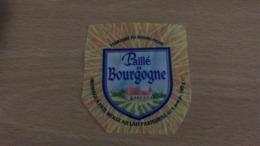 Etiquette Fromage -   Paillé De Bourgogne 62 % MAT G - Aschenbecher