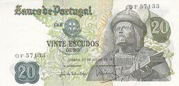 Portugal  3 Notas De 20$00 - Portogallo