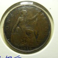 Great Britain 1 Penny 1919 KN - D. 1 Penny