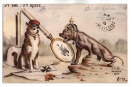 (Guerre 1914-18) 243, Patriotic 1054, J'y Suis J'y Reste Par Morinet - Guerra 1914-18