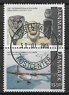 DANIMARCA 2007 ANNO POLARE INTERNAZIONALE UNIF. 1462-1463 USATA VF - Danimarca