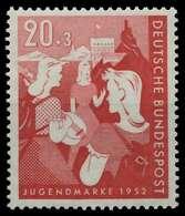 BRD 1952 Nr 154 Postfrisch X875C02 - Ungebraucht