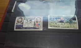 Monaco 1970 Yt829/30 Apolo 11  Xx - Unused Stamps