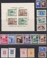 1937.*/(*) GUERRA CIVIL-SELLOS LOCALES. Lote De Siete Series Completas - 1931-Today: 2nd Rep - ... Juan Carlos I
