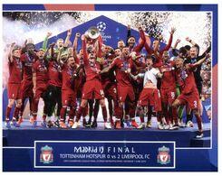 (L 17) UK (with Stamp) Madrid Final (Football Team) Tottenham Hotspur - Liverpool FC (0 Vs 2) - Soccer