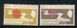 Bechuanaland 1965 ITU Centenary MLH - 1965-1966 Self Government
