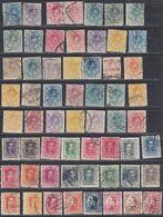 1889-30. */º ALFONSO XIII. Resto De Colección De Sellos De Emisiones Básicas - 1889-1931 Königreich: Alphonse XIII.
