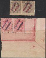 "1909. ** Edifil: TANGER 1(2), 3(2). Un Sello SIN ""L"" DE ""ESPAÑOL"" - Spanisch-Marokko"