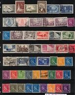 FINLAND 1923-37 49 Stamps M+U #BMK01 - Sammlungen
