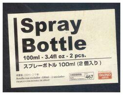 Japan Spray Bottle Label Daiso 100ml 3.4fl Oz - Autres Collections