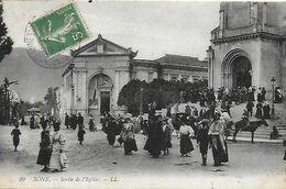 Algérie )    ANNABA   BONE  - Sortie De Messe - Annaba (Bône)