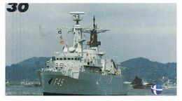 (29-08) Brazil - F 49 Ship - ネコ -Carte Tephone / Phonecard / Telefonkarte / Carta Telefonica / Tarjeta Telefónica - Army