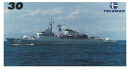 (29-08) Brazil - F 42 Ship - ネコ -Carte Tephone / Phonecard / Telefonkarte / Carta Telefonica / Tarjeta Telefónica - Army