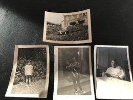 Lot 4 PHOTOS  1916-1928 MEXIMIEUX Les Platanes.... - Lugares