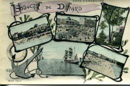 N°3251 R -cpa Souvenir De Dinard -multivues- - Gruss Aus.../ Grüsse Aus...