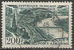 FRANCE / POSTE AERIENNE N° 25 OBLITERE - 1927-1959 Afgestempeld