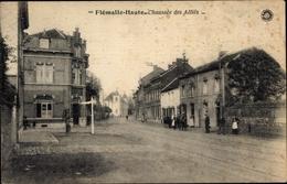 Cp Flemalle Haute Lüttich, Chaussee Des Allies - Belgique