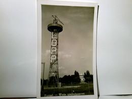 Potznan  / Posen / Polen. - Wieza Spadochnorowa. Alte, Seltene AK S/w. Ungel. Ca 1935. Turm Mit Aufschrift Lop - Postkaarten