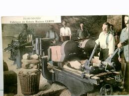 Buironfosse / Frankreich / Aisne. Fabrique De Sabots Maison Camus. Alte, Seltene AK Farbig, Ungel. Ca 1915. Mä - Frankrijk