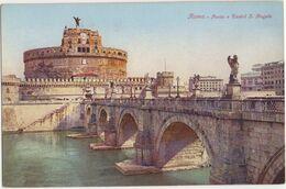Roma - Ponte E Castel S. Angelo - Castel Sant'Angelo