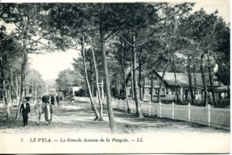 N°3261 R -cpa Le Pyla -la Grande Avenue De La Pergola- - Autres Communes