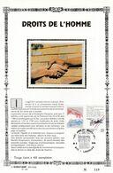 Feuillet Tirage Limité 400 Exemplaires 2327 Droits De L'homme Landelies - Hojas