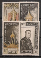 Laos - 1961 - N°Yv. 71 à 74 - Roi Sivagang Vong - Neuf Luxe ** / MNH / Postfrisch - Laos